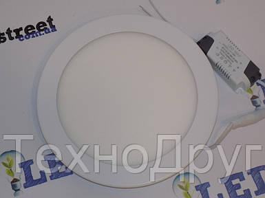 Светодиодный светильник SL 12Вт (круг)