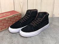 Зимние мужские кроссовки Vans Winter черные