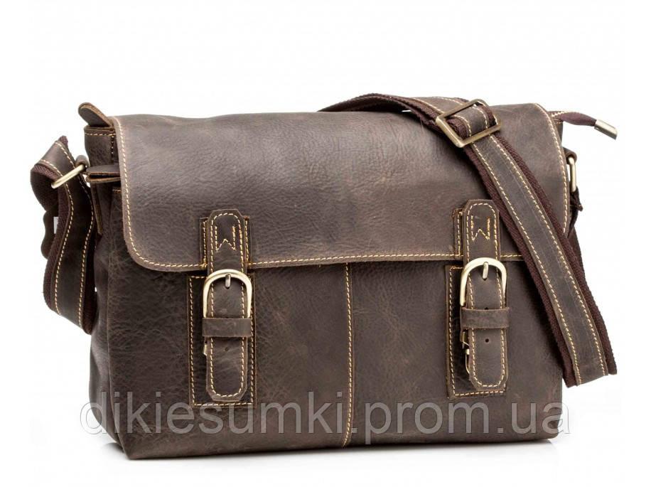 0228092a5f6a Мужская сумка через плечо TIDING BAG коричневого цвета G8850 в ...