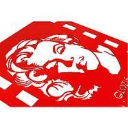 Настенная вешалка для одежды Monroe (металлическая), фото 2