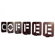 Вешалка настенная Coffee (металлическая), фото 2