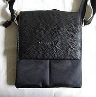 Мужская сумка через плечо барсетка Планшет 24х20см, фото 1