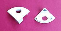 Комплект боковых заглушек для углового алюминиевого профиля ХН-076