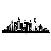 Настенная вешалка для одежды City (металлическая)