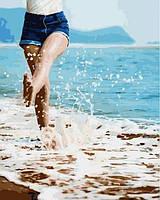 Рисование по номерам 40×50 см. Теплый берег