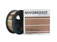 Сварочная проволока Novobronze G3Si1 CuZn 1,2 мм (катушка 18 кг)