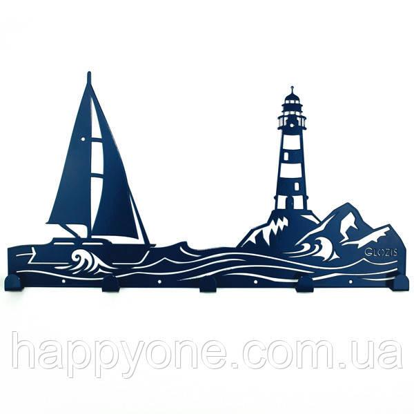 Настенная вешалка для одежды Sea (металлическая)