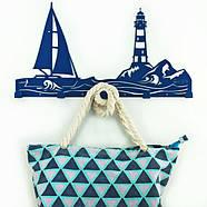Настенная вешалка для одежды Sea (металлическая), фото 2