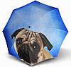 Женский зонт  Doppler Мопс ART ( полный автомат ), арт. 746157-10