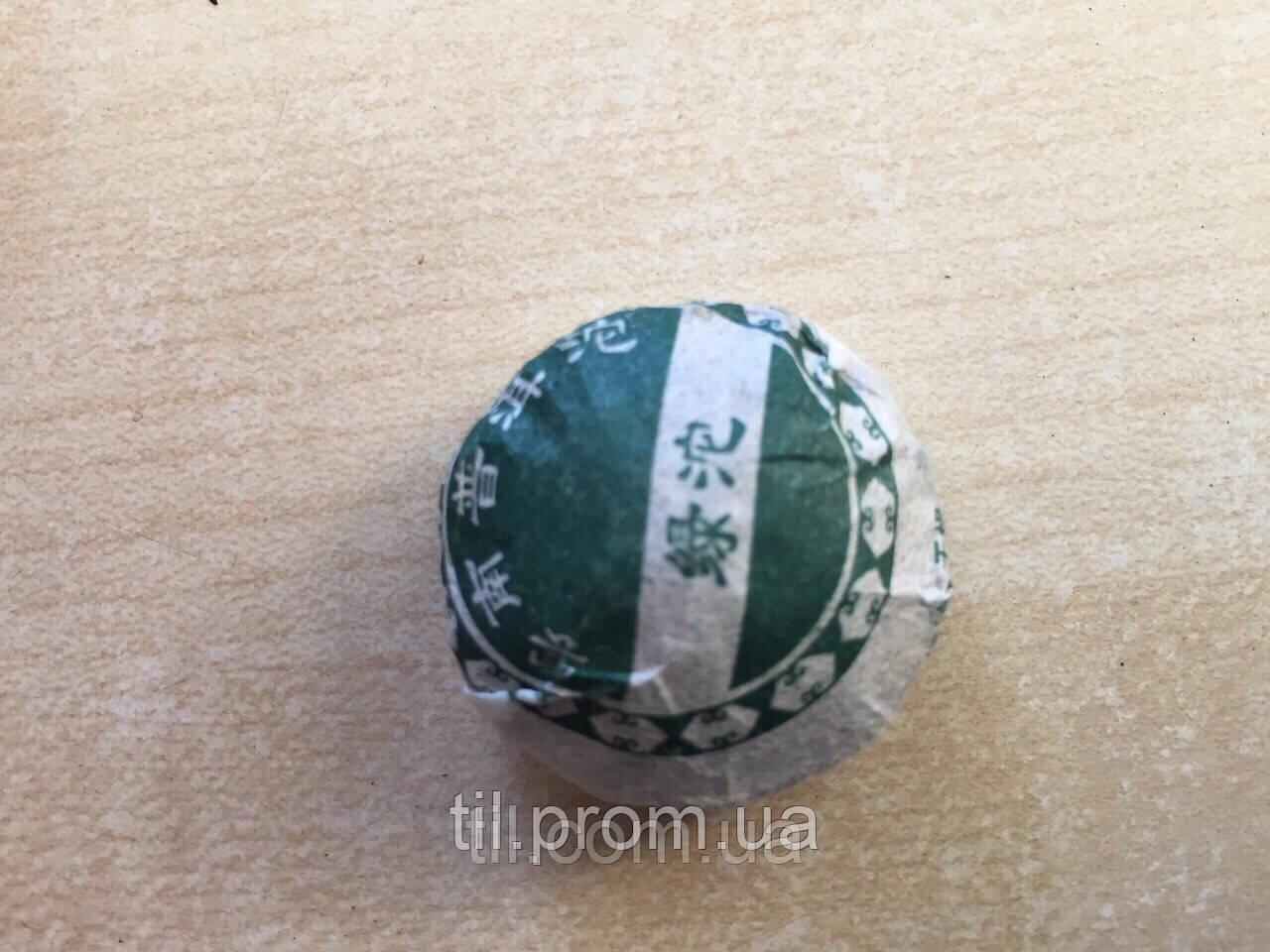 Китайский зеленый элитный Шен Пуэр  Туо ча (Прессованный чай)