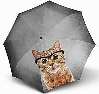 Женский зонт  Doppler Кот ART ( полный автомат ), арт. 746157-11, фото 1