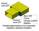 Секция переходная. Короба кабельные стальные., фото 2
