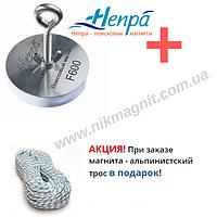 Поисковый магнит F600 Непра Россия односторонний.