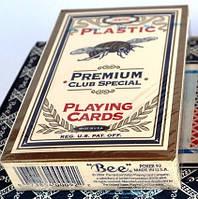 Карты Bee 100% пластик USA для покера оригинал