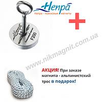 Поисковый магнит F200 Непра Россия односторонний.