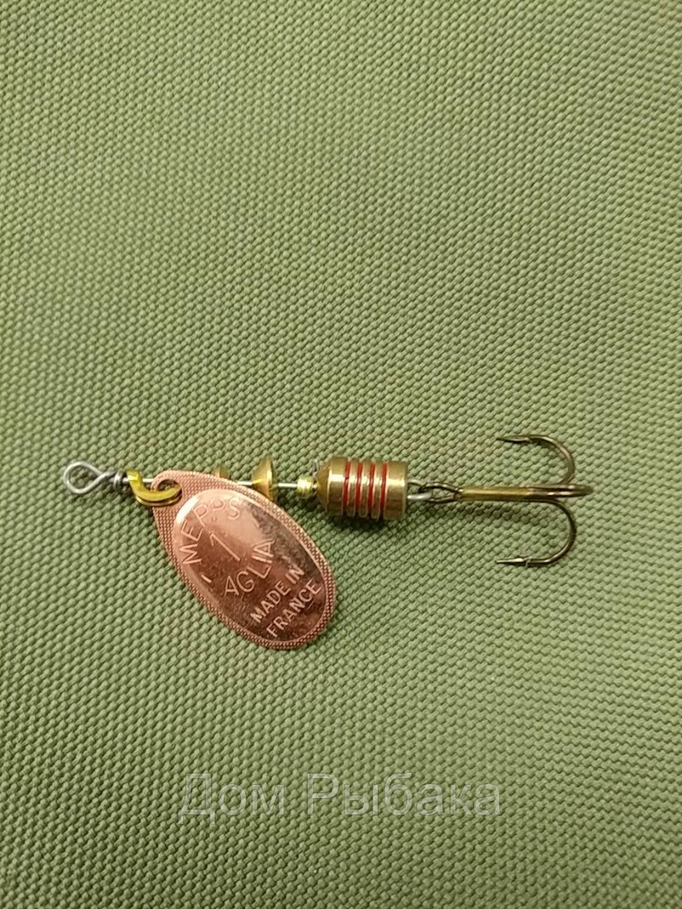 Блесна Mepps Aglia Copper №1 3,5гр (58428), фото 1