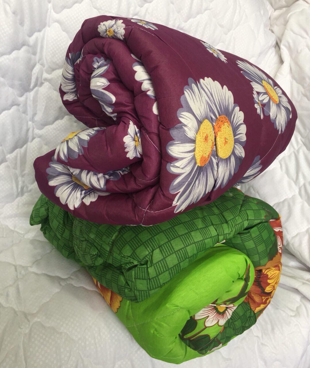 Одеяло Двойной силикон в поликоттоне 150*215см.