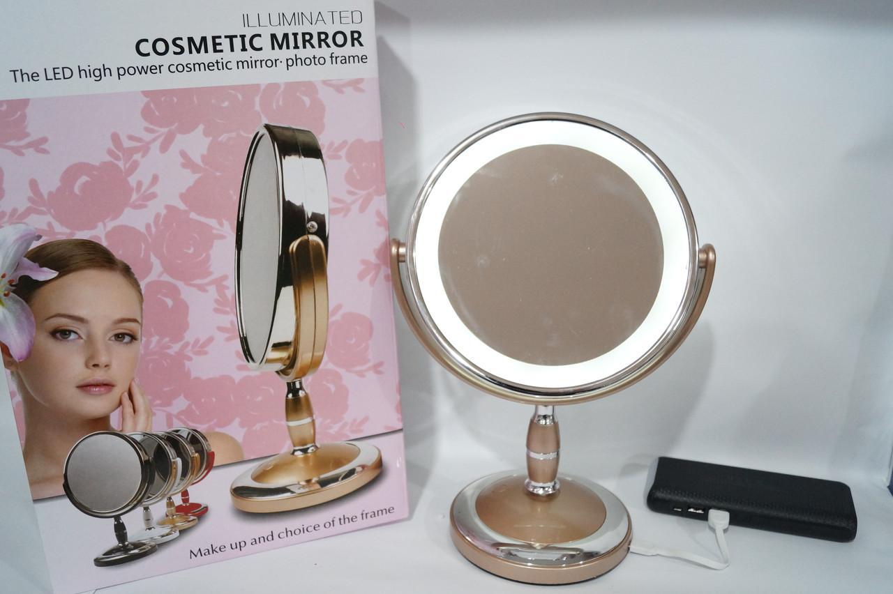 Женское зеркало с  Led подсветкой