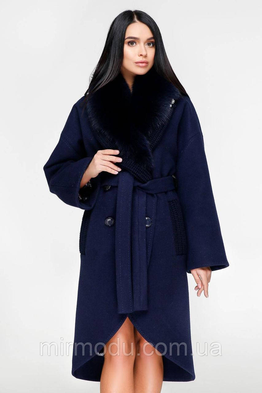 Пальто П-1089 н/м Шерсть пальтовая  113-1712 Тон 160 с 44 по 54 размер (фати)
