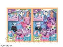 Кукла DEFA 29 см 8009 нарядами,аксес.