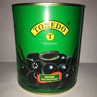 Маслины Toredo черные без косточки 3100мл
