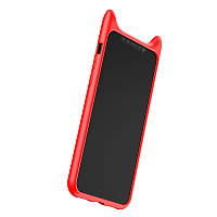 Чехол Baseus iPhone X Devil Baby (Red)