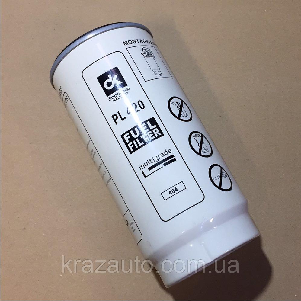 Элемент фильтра топлива без крышки-отстойника DAF, MAN, КАМАЗ, МАЗ