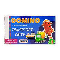 """Гр Домино """"Транспорт світу"""" 678/30669 укр. (12) """"STRATEG"""""""