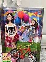 Кукла с велосипедом FB 061