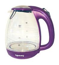 Электрический чайник Rainberg  Стеклянный электрочайник