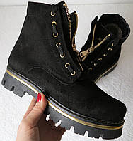 Balmain зимові жіночі черевики з натуральної замші, для жінок і дівчаток