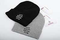Брендовая шапка  ASSC / Anti Social Social Club