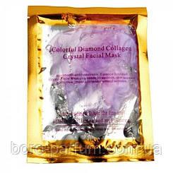 Маска для лица с коллагеном Colorful Diamond Collagen Crystal Mask (Сиреневая)