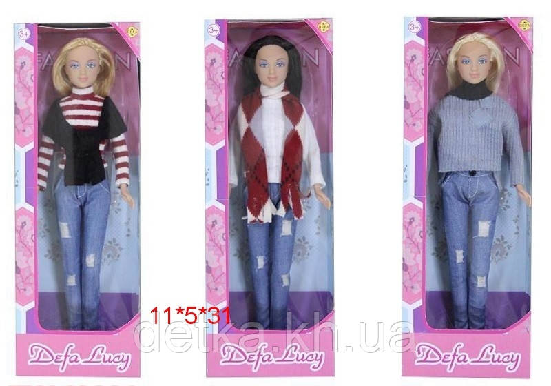 Кукла DEFA 29см 8366