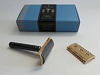 Бритва для гоління Т-подібна Fatip Piccolo Special Gold Edition
