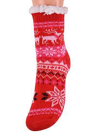 Детские носки на МЕХУ с тормозами (Арт. HD6012/1R/28-31)   1 пара