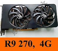 Видеокарты XFX R9 270, 4Gb, 256Bit, GDDR5  GTX 660 750ti HD7850 7870 6970 R9 270 280 R7 265