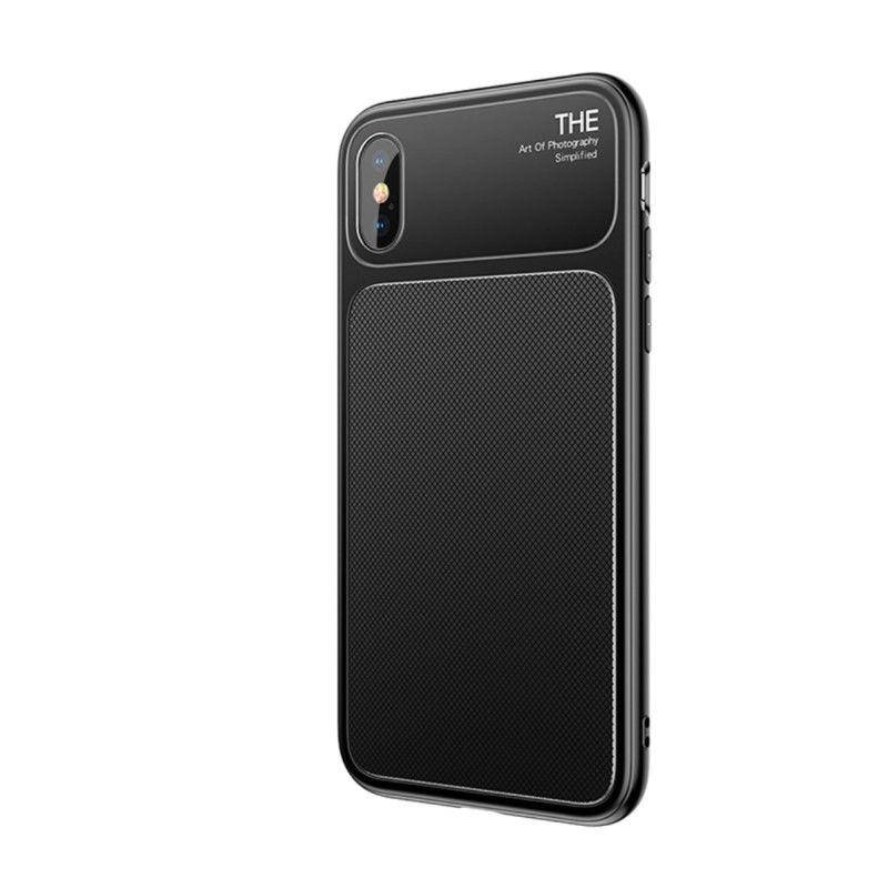 Чехол Baseus iPhone X Knight (Black)