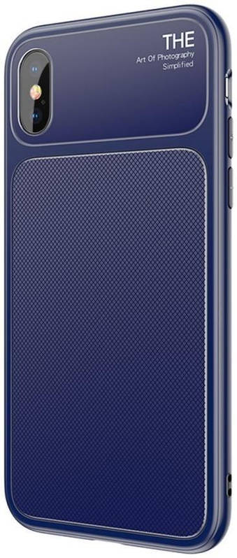 Чехол Baseus iPhone X Knight (Blue)