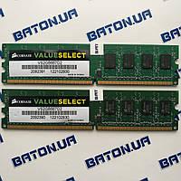 Оперативная память Corsair DDR2 4Gb 667MHz PC2 5300U CL5 (VS2GB667D2), фото 1