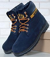 Мужские ботинки CATerpillar Зимние, ботинки катерпиллер, реплика
