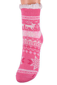 Детские носки на МЕХУ с тормозами (Арт. HD6012/2R/28-31)   1 пара