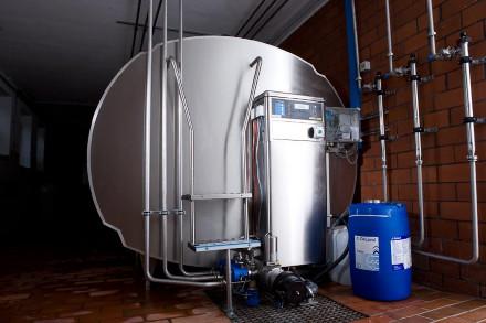 Автомат промывки танка охладителя молока