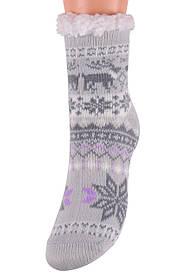 Детские носки на МЕХУ с тормозами (Арт. HD6012/4R/28-31)   1 пара