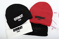 Брендовая шапка Givenchy (объемная вышивка)