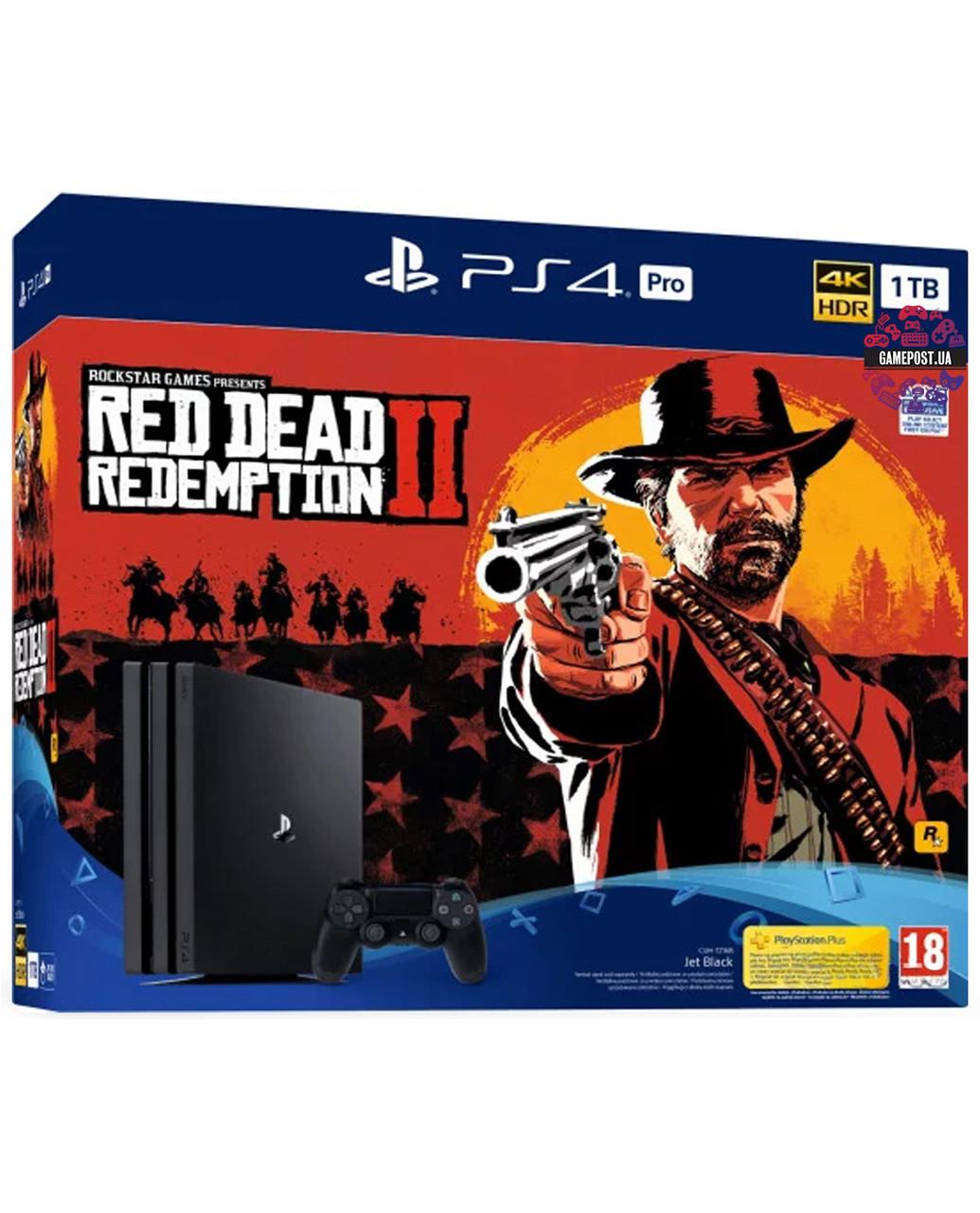 Playstation 4 Pro 1Tb + игра Red Dead Redemption 2Нет в наличии