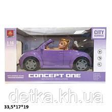 Кабриолет для куклы WY580B с куклой батар.муз.свет