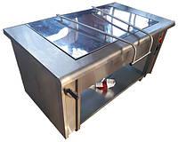 Сковорода электрическая промышленная СЭО-70 для столовой на 70 л