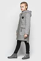 Кашемировое пальто Cvetkov Ванесса Серый