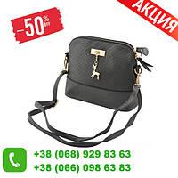 Женская стильная сумка  Bembi серая